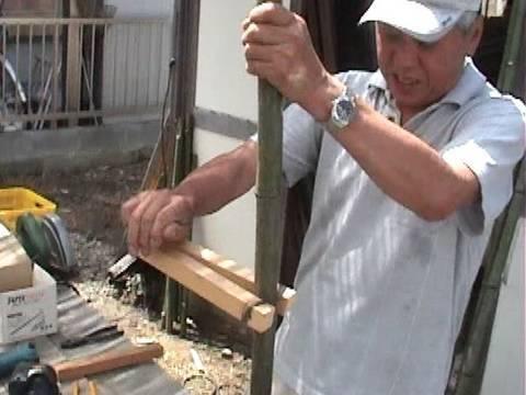 Making Old Fashioned Japanese Bamboo Stilts