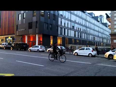Walking in Stockholm