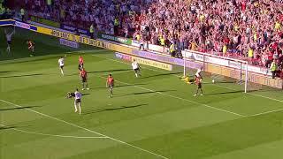 Blades 1-2 Swansea - match action