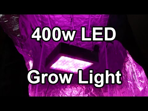 mars ii 400w led grow light for the new loft garden youtube. Black Bedroom Furniture Sets. Home Design Ideas