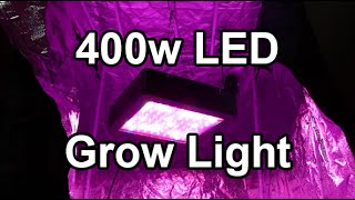 Mars II 400w LED Grow Light - For the new loft garden!