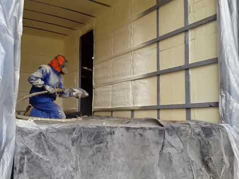 Aislamiento de furg n con poliuretano guayaquil ecuador - Aislamiento de paredes ...