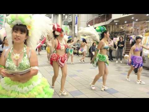 神戸サンバチーム・2016神戸まつり PRキャラバン隊 パレード