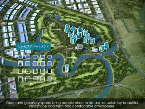 Khu công nghiệp Phú Mỹ 3, tỉnh Bà Rịa – Vũng Tàu | Phim 3D Quy hoạch | Macom