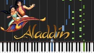 Aladdin - Prince Ali [Piano Cover Tutorial] (♫)