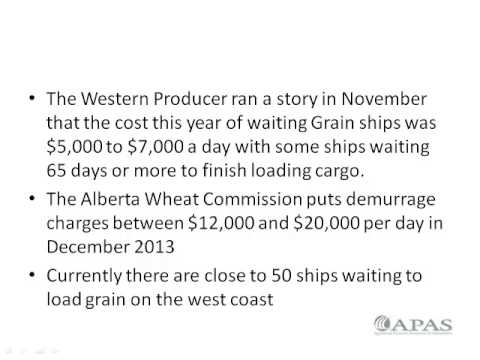 Gerry Gault Grain Transportation Symposium - February 2014