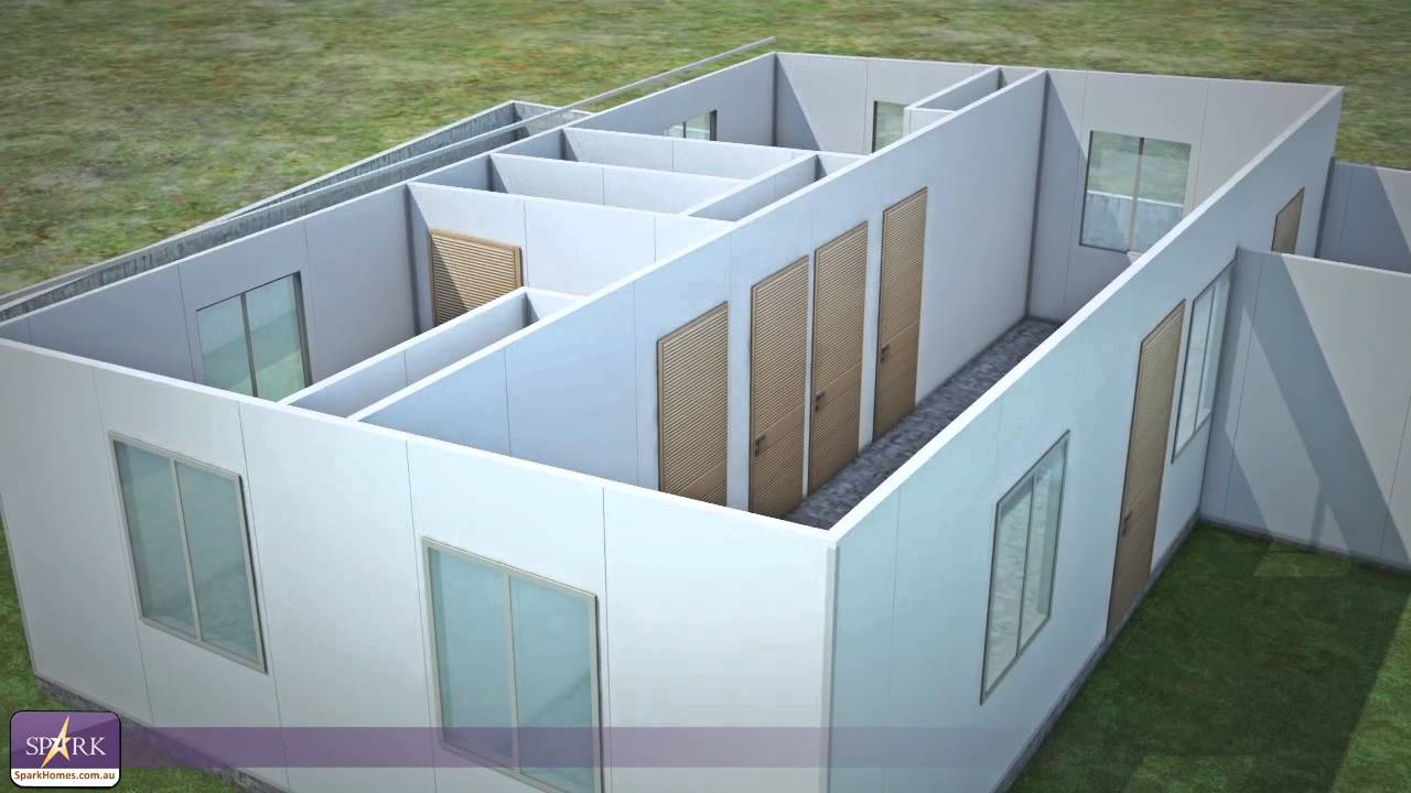 Spark Homes The Future Residential Pre Fab Kit Homes