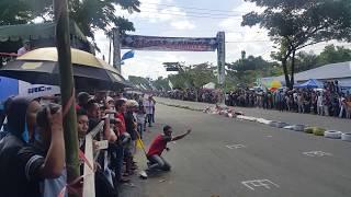 Road race tarakan 2016 gagal star panitia hampir ditabrak | Afie Cinta Damai