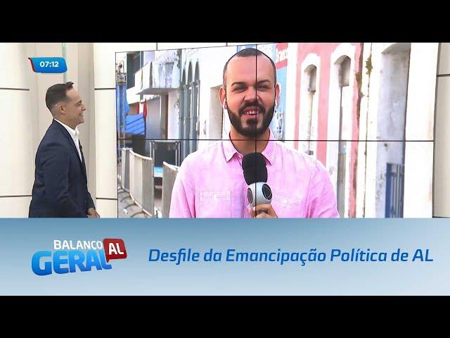Preparativos para o desfile da Emancipação Política de Alagoas