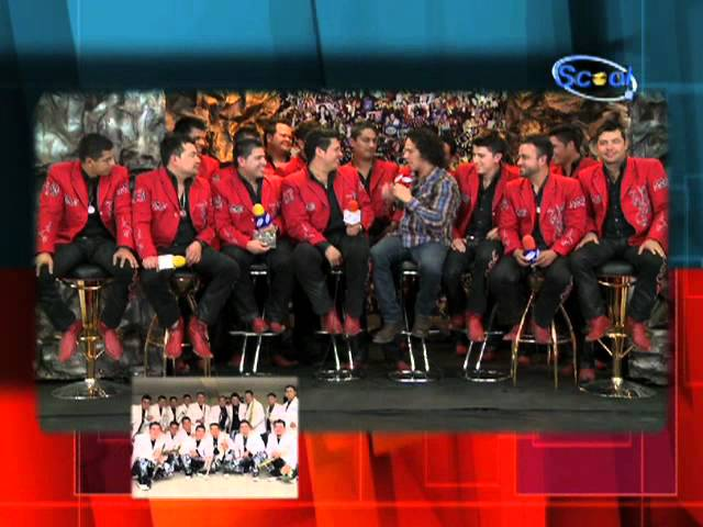 BANDA MS Y ROBERTO FREYMANN ENTREVISTA  PI KPIEDRAS  SCOOL TV 2DA PARTE Travel Video
