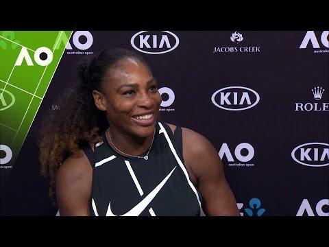 Serena Williams talks wedding plans | Australian Open 2017