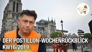 Der Postillon Wochenrückblick (15. April - 20. April 2019)