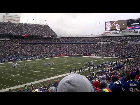 Bills Shout Song - Bills / Colts Sept 13, 2015