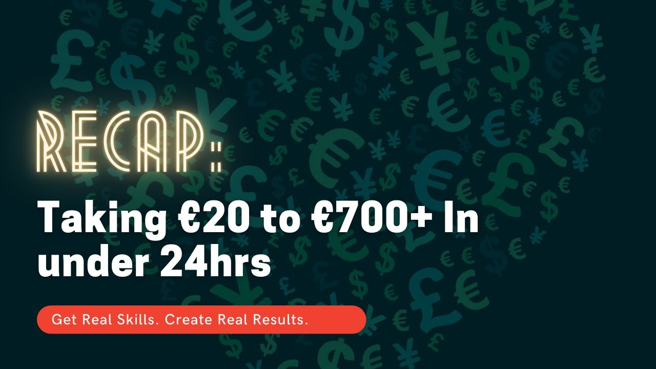 Taking €20 to €700+ In under 24hrs [Forex Trading]