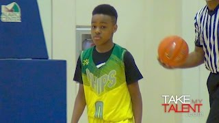 lebron james jr shows out at john lucas all star weekend