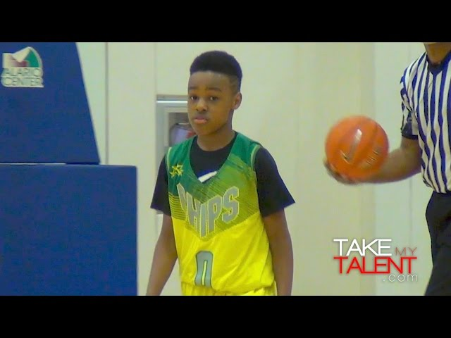 85cf0f8d85ef5 VIDEO  LeBron James Jr. is back embarrassing young opponents all over again