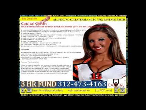 Capital Cash BUSINESS All FICO LINES COM RE / PROJECT/ CPN / CORP FUNDING CFO s Credit Repair