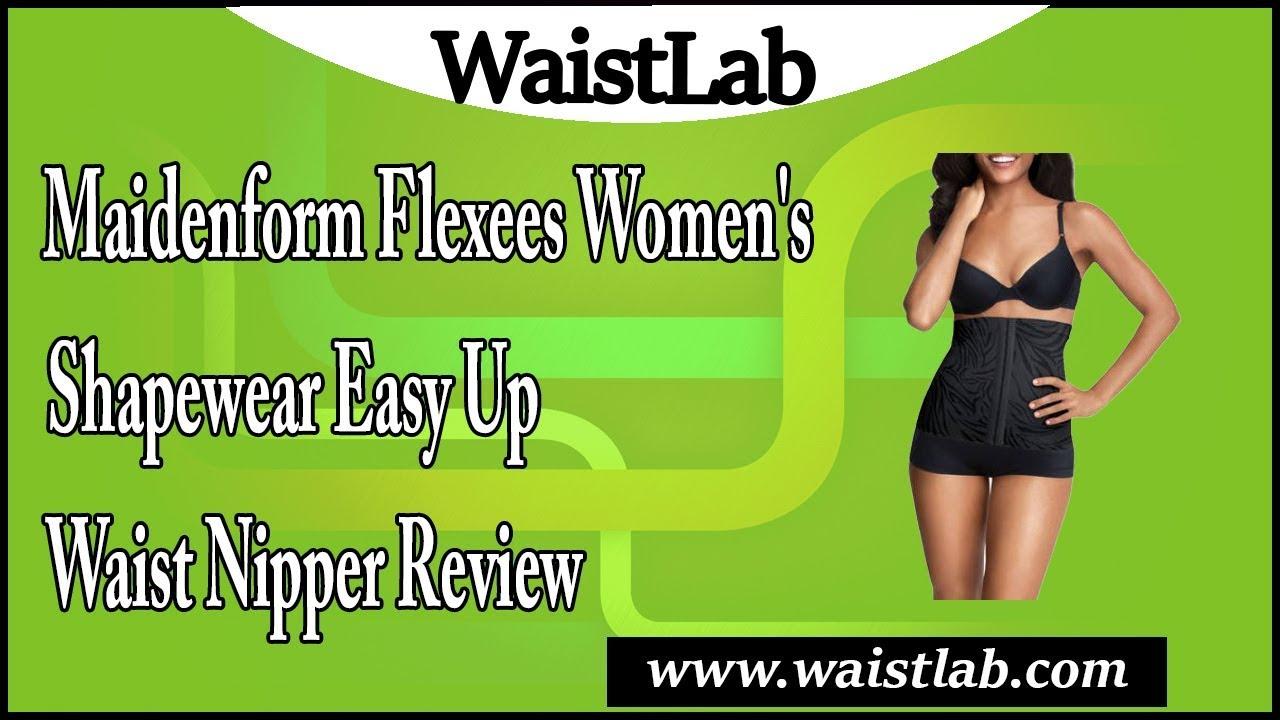 5e2723e50d9 Maidenform Flexees Women s Shapewear Easy Up Waist Nipper Review ...