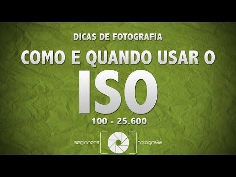 Dicas de Fotografia - COMO E QUANDO USAR O ISO