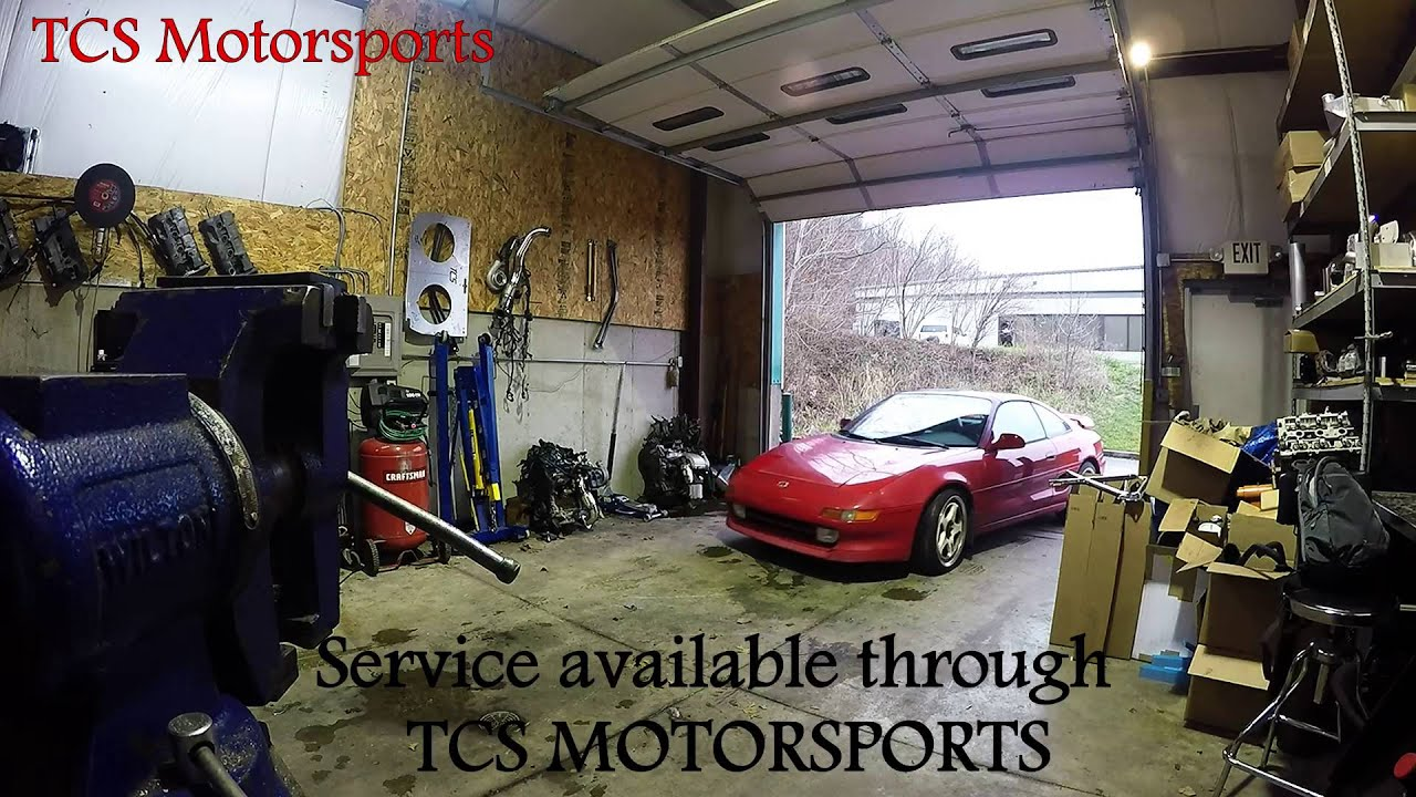 TCS Motorsports - Toyota mr2 - NA to 4th Gen 3sgte Swap