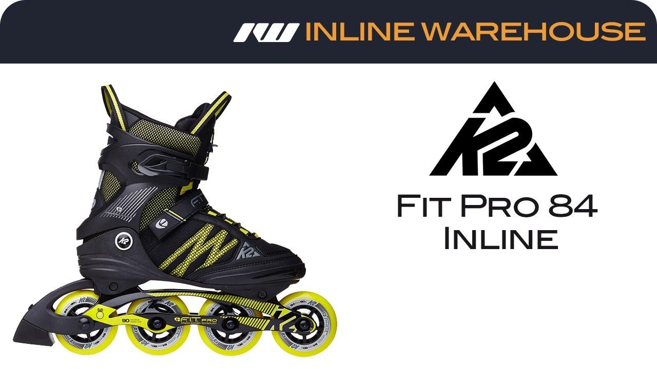 00f23b5b42e 2017 K2 Fit Pro 84 Skates for Men Review - YouTube