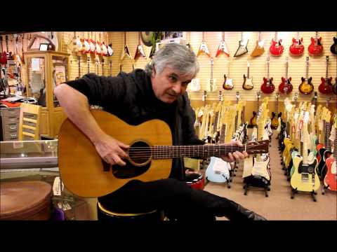 Laurence Juber at Norman's Rare Guitars