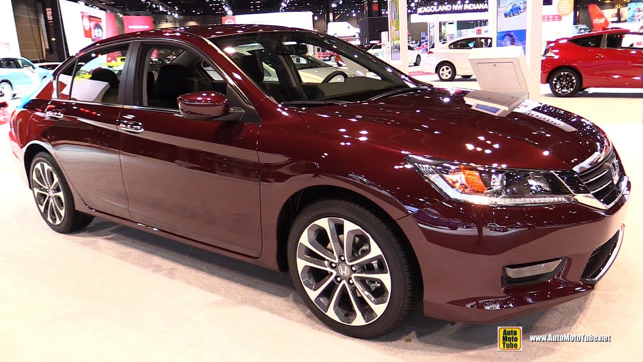 2015 Honda Accord Sport 4dr Exterior And Interior Walkaround 2015 Chicago Auto Show Youtube