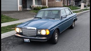 Why is This Mercedes 300D So Slow Part 1? Don't Neglect to Check Simple Things First