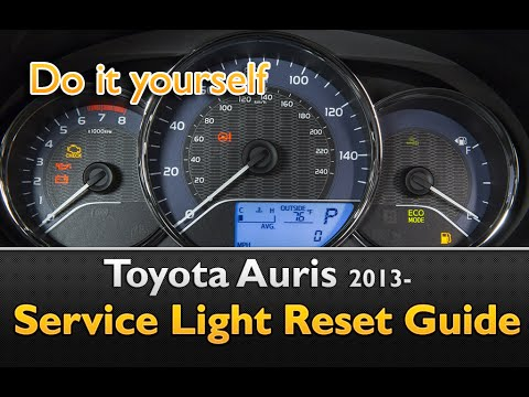 Toyota Yaris 2017 Reset Maintenance Light