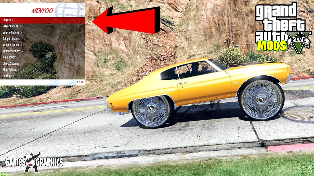 Download How to use Menyoo (2020) GTA 5 MODS