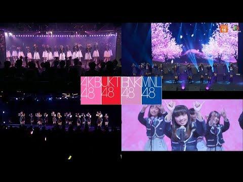 Sakura no hanabiratachi - AKB48 JKT48 BNK48 MNL48 - 4K Mixdown
