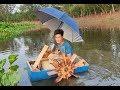 NSD Vlogs _Chế thuyền câu quay tay từ bồn nhựa cũ / manufacturing boats from plastic scraps