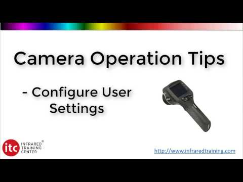 Set the units, date, and time in FLIR cameras