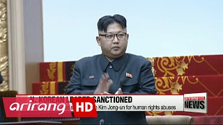 U.S. hits N. Korean leader Kim Jong-un with sanctions for human rights abuses