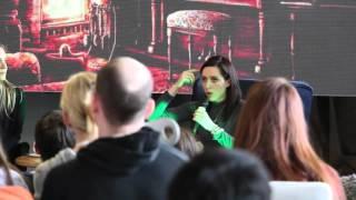 Катя Клэп в Екатеринбурге 09.04.16 Советы по развитию YouTube канала
