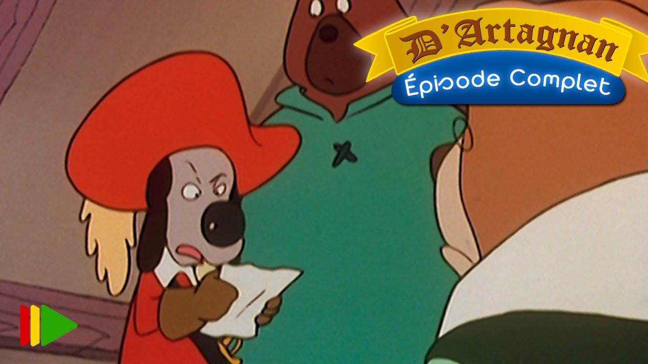 D'artagnan dessin animé episode 8