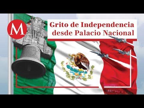 AMLO da su primer Grito de Independencia