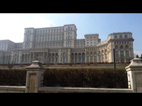 Palace of the Parliament, Bucharest, Romania 11 Mar 2015