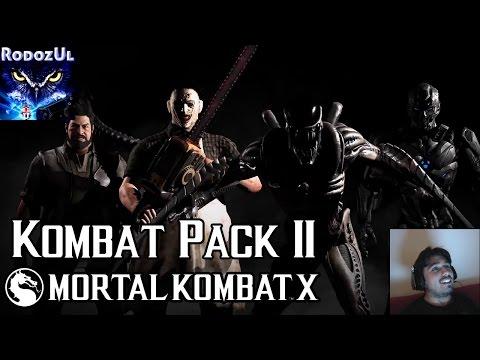 Mortal Kombat X - KOMBAT PACK 2 - NUEVOS PERSONAJES REVELADOS - Rodo Reacciones - RodozUl Español