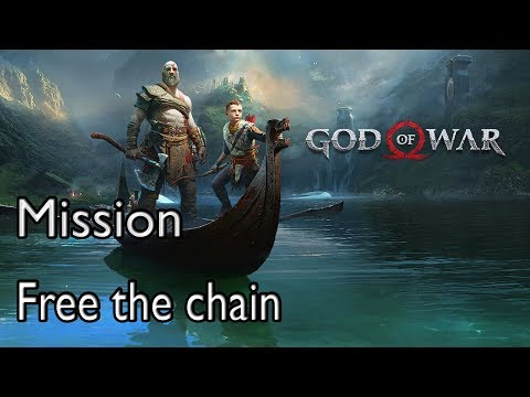 God Of War 4 Mission Inside the Mountain: Free the chain