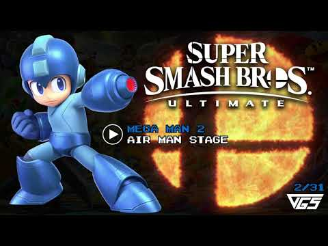 All Mega Man Songs | Super Smash Bros. Ultimate | OST | 31 tracks