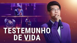"""Testemunho de vida"" Música gospel 2018 (Legenda em português)"
