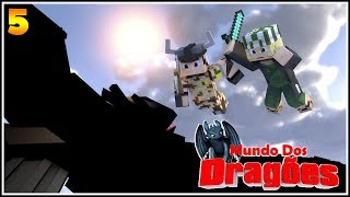 VIKINGS VS. DRAGÕES! ft. Brunim Neets - Minecraft Mundo dos Dragões #5