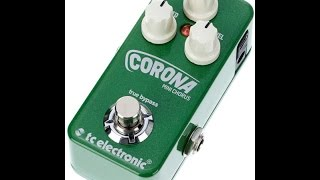 TC Corona Mini Chorus Demo and How to Beam Toneprints
