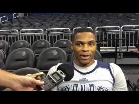 Westbrook: Shootaround in Orlando