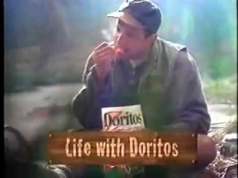 Doritos Pizza Hut Chips Ad with Beavers from 1996 thumbnail