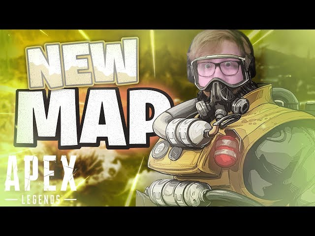 FIRST WIN IN SEASON 3....with Caustic!? New Map in Apex Legends
