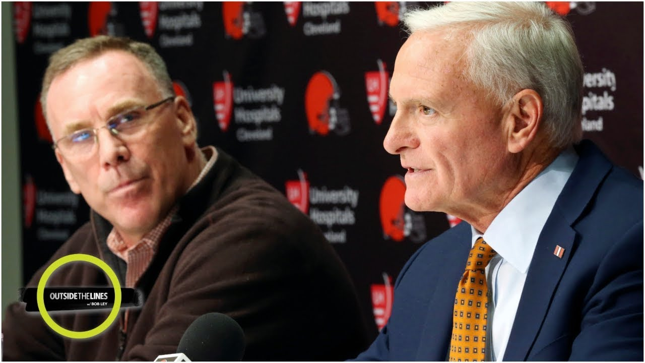 Inside the Cleveland Browns front office, where hope and history collide