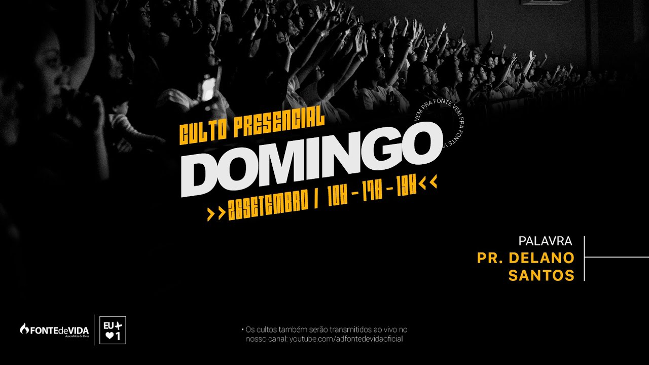 Download Culto da Família 10h   Pr. Delano Santos