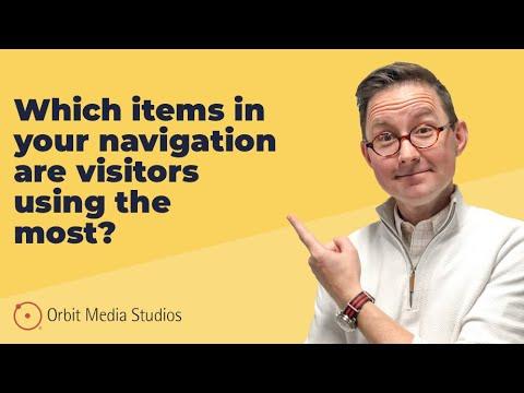 Google Analytics Reporting vs. Analysis: Navigation Engagement